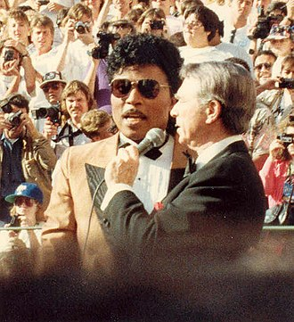 Little Richard - Little Richard, interviewed during the 60th Annual Academy Awards, 1988