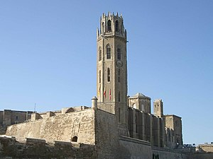 Old Cathedral of Lleida - La Seu Vella.