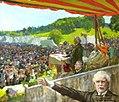 Lloyd George Addressing a Liberal Rally at Waddesdon, 14 July 1928 (38575919221).jpg