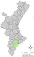 Localització d'Aigües respecte el País Valencià.png