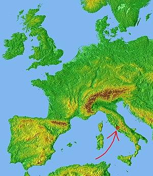 Roma în Italia