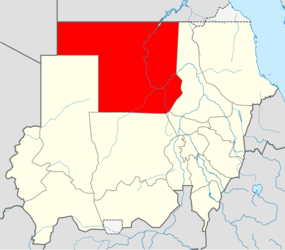 Locator map Sudan Northern.png