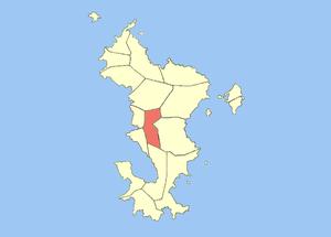 Ouangani - Image: Locator map of Ouangani