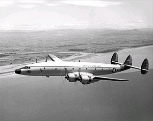 Lockheed C-121J in flight 1965.jpg