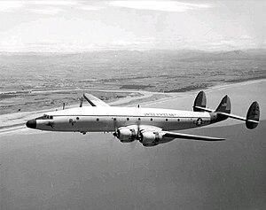 VX-6 - Image: Lockheed C 121J in flight 1965