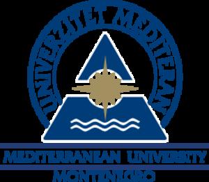 Mediterranean University - Image: Logo Univerzitet Mediteran