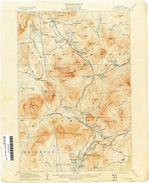 File:Loon Lake New York USGS topo map 1906.jpg