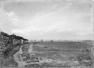 Landscape (in the Barbizon district?)