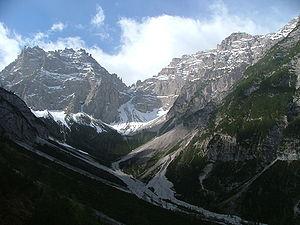 Monte Cridola - Image: Lorenzago Cridola 2