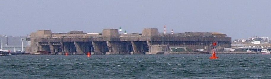 Lorient submarine base 2007 2