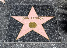 Los Angeles (California, USA), Hollywood Boulevard, John Lennon -- 2012 -- 4990.jpg