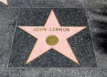 "Star ""John Lennon"" at the Hollywood Walk of Fame, Los Angeles, California Los Angeles (California, USA), Hollywood Boulevard, John Lennon -- 2012 -- 4990.jpg"