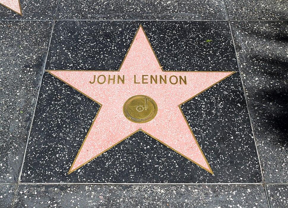 Los Angeles (California, USA), Hollywood Boulevard, John Lennon -- 2012 -- 4990
