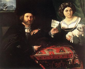 Couple interview - Husband and Wife by Lorenzo Lotto, 1523