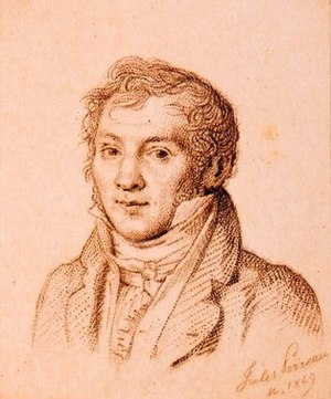 Louis-Luc Loiseau de Persuis - Louis-Luc Loiseau de Persuis Engraving by Jules Porreau (1849)
