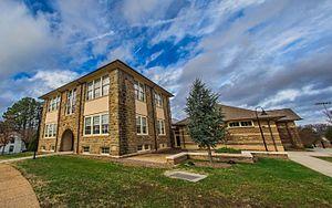 Louisa High School - Image: Louisa High School