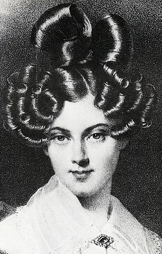 Princess Louise Amelie of Baden - Louise Amelie, believed to be around 1840.