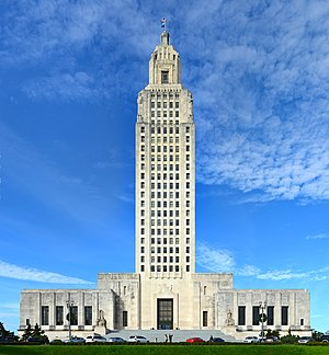 Louisiana State Legislature - Image: Louisiana State Capitol Building