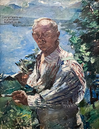 1924 in art - Image: Lovis Corinth 005