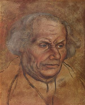 History of Lutheranism - Luther's father, Hans, by Lucas Cranach the Elder