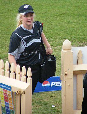 2009 Women's Cricket World Cup Final - Image: Lucy Doolan
