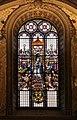 Ludovico seitz (dis.), vetrata con la madonna in trono, angeli, adamo ed eva, 1875-82 ca. 01.jpg