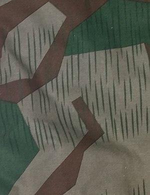 German World War II camouflage patterns - Image: Luftwaffen Splittermuster 41 (cropped)
