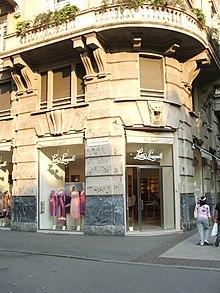 Un negozio Luisa Spagnoli situato a Bergamo.