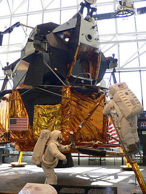 Canceled Apollo missions - LM-2 on display at the National Air and Space Museum