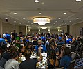 Lunch at Wikimania 2017, Day 1.jpg