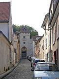 La rue Saint-Côme à Luzarches