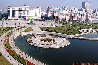 Luyuan District District in Jilin, Peoples Republic of China