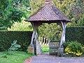 Lych gate, St Mary's Church, Newton Valence - geograph.org.uk - 1338470.jpg
