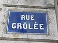 Lyon 2e - Rue Grolée - Plaque (mars 2019).jpg