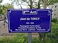 Lyon 8e - Square Jean de Torcy - Plaque (mai 2019).jpg