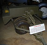 M5 Bomb trailer detail, National Museum of the US Air Force, Dayton, Ohio, USA. (44319210180).jpg