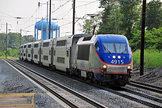MARC Train Commuter rail system comprising three lines in the Baltimore–Washington metropolitan area