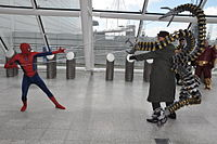 MCM 2013 - Spider-Man vs Doctor Octopus (8978127091).jpg