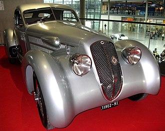 Lancia Astura - 1935 Lancia Astura 233C Aerodynamica