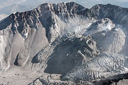 Carbone datant Mount St Helens
