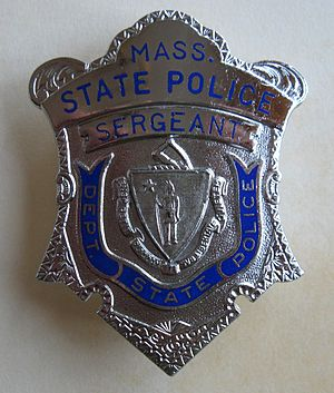 Massachusetts State Police - Image: MSP Sergeant