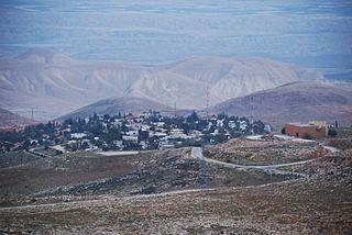 Maale Efrayim Israeli settlement in the West Bank