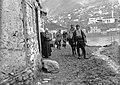 Macedonia, Veles 1915, Háttérben a Vardar folyó. Fortepan 59165.jpg