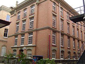 Mackenzie - biblioteca central George Alexander
