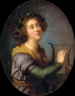 Luísa Todi - A painting of Luísa Todi, painted by Vigée Le Brun, 1785.