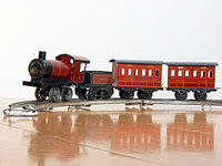 Made in Germany Tin clockwork toy train from around 1900 pic-016.JPG