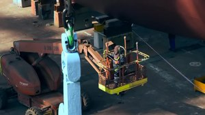 File:Maersk - Triple-E - Semi-launch time-lapse.webm