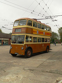 Sunbeam Maidstone trolleybus uit 1947