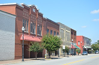 Chase City, Virginia - Main Street downtown