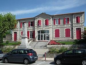 Saulce-sur-Rhône - The town hall in Saulce-sur-Rhône